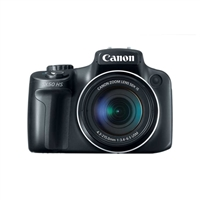 Canon PowerShot SX50 HS 12.1 Megapixel Digital Camera - Black
