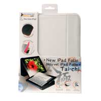 HornetTek Tai-Chi Portfolio for iPad 2/3 White/Grey