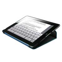 HornetTek Tai-Chi Portfolio for iPad 3 Black/Blue