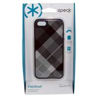 Speck Products FabShell MegaPlaid for iPhone 5 Black