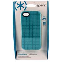 Speck Products PixelSkin for iPhone 5 Peacock Blue