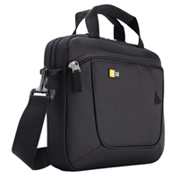 "Case Logic Laptop and iPad Slim Briefcase Fits Screens up to 11"" Black"