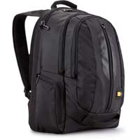 "Case Logic Notebook and Tablet Backpack Fits Screens up to 17.3"" Black"