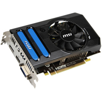 MSI AMD Radeon HD 7770 GHz Edition 1024MB GDDR5 PCIe 3.0 x16 Video Card