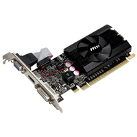 MSI GeForce GT 610 Low Profile 2048MB DDR3 PCIe 2.0 x16 Video Card