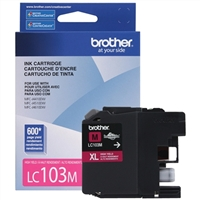 Brother LC103M High Yield Magenta Inkjet Cartridge