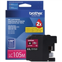 Brother LC105M Super High Yield Magenta Inkjet Cartridge
