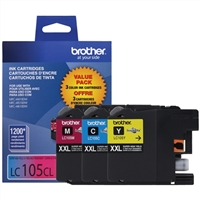Brother LC1053PKS Super High Yield Tri-Color Inkjet Cartridges