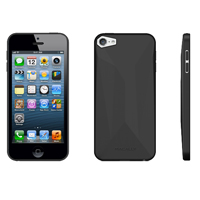 MacAlly Flexible Protective Case for iPhone 5 - Black