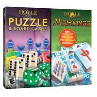 Encore Software Hoyle Mahjongg and Puzzle Board JC (PC)