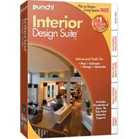 Encore Software Punch! Interior Design Suite V17 (PC)