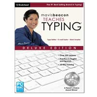 Encore Software Mavis Beacon Teaches Typing Deluxe