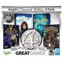 Encore Software 4 Great Games Diamond JC (PC)