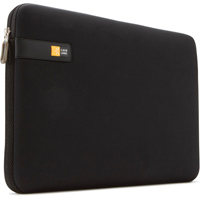 "Case Logic Notebook Sleeve Fits Screens up to 13.3"" Black"