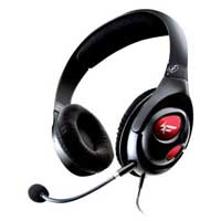 Creative Labs HS-800 Fatal1ty Over Ear Gaming Headset - Black/Red