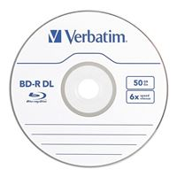 Verbatim BD-R DL 6x 50GB Disc 10 Pack Spindle