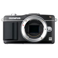 Olympus E-PM2 16 Megapixel Digital SLR Camera with 14mm-42mm Lens - Black