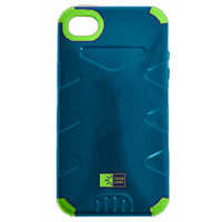 Bytech Durable Case for iPhone 5 Blue/Green