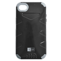 Bytech Durable Case for iPhone 5 Black/Grey