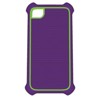 Bytech Sport Case for iPhone 5 Purple/Green