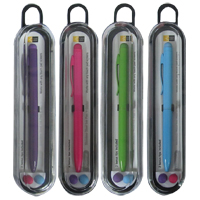 Bytech Stylus with Black Ink Pen - Assorted Colors