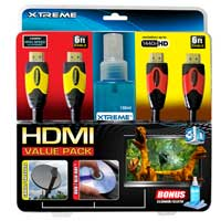 Xtreme Cables HDMI Cables - 2-Pack