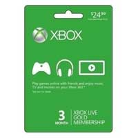 InComm Xbox LIVE 3 Month Card