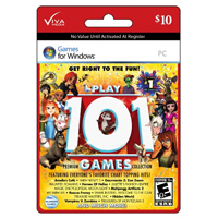 InComm Play! 101 Games Collection $10 Gift Card
