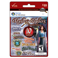 InComm Viva Media Mystery Masters: Secret Stories $10 Gift Card