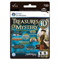 InComm Viva Media Mystery Masters: Treasures of Mystery $10 Gift Card
