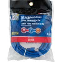 Just Hook It Up Category 5e Networking Cable 14 ft