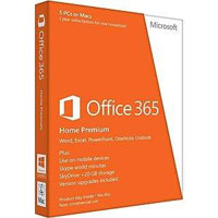 Microsoft Office 365 Home Premium 1 Year Medialess (PC)