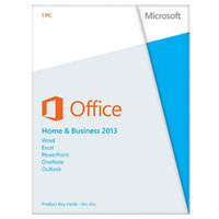 Microsoft Office Home and Business 2013 Medialess (PC)