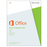 Microsoft Office Home and Student 2013 Medialess (PC)