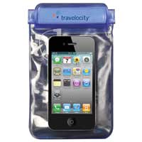 "Travelocity 5"" Waterproof/Sandproof Smartphone Case with Aux Port"