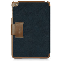 MacAlly Protective Portfolio Case & Stand Designed for iPad mini Blue