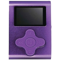 Mach Speed Technologies Eclipse CLD 4GB LCD Display Portable MP3 Player - Purple