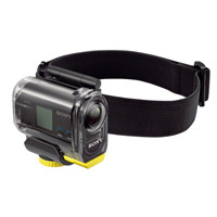 Sony Headband Mount for Action Cam (HDR-AS10 and HDR-AS15) in Waterproof Case (SPK-AS1)