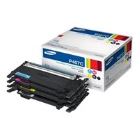 Samsung CLT-P407C CMYK Laser Toner Value Pack