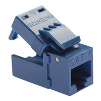 Platinum Tools EZ-SnapJack Cat 6 4-Pack White