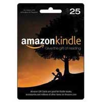 InComm Amazon Kindle $25 Gift Card