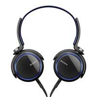 Sony MDR-XB400 XB Series Extra Bass Headphones Blue
