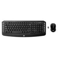 HP Wireless Keyboard and Mouse Combo Refurbished - Black