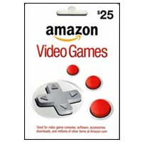 InComm Amazon Video Games $25 Gift Card