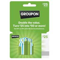 InComm Groupon $25 Gift Card