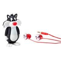 Emtec International Looney Tunes Sylvester USB MP3 Player 8GB