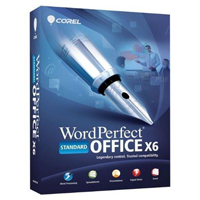 Corel WordPerfect Office X6 Standard Upgrade (PC)