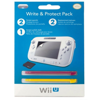Pelican Accessories Wii U Write and Protect Pack