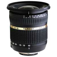 Tamron SP 10-24mm F/3.5-4.5 Di II Lens with hood for Nikon Mount