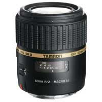 Tamron SP 60mm F/2.0 Di II 1:1 Macro Lens with hood for Nikon Mount